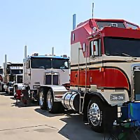 TWK Trucking with kingfish