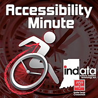 Accessibility Minute with Laura Medcalf