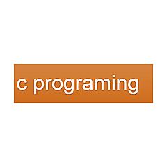 c programing