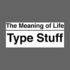 The Meaning of Life Type Stuff