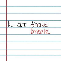 In At Break