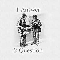1 Answer 2 Question