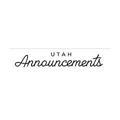 Utah Announcements