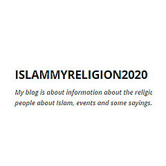 Islam my religion