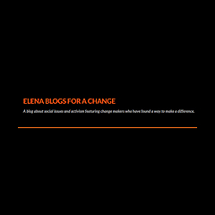 Elena Blogs for a Change