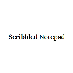 Scribbled Notepad