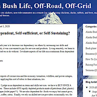 Alaska Bush Life, Off-Road, Off-Grid