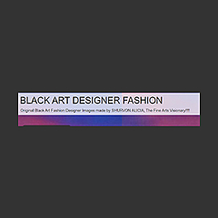 BLACK ART DESIGNER FASHION