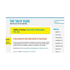 The Tally Blog | Know your Tally ERP 9 Software more