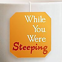While You Were Steeping