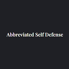 Abbreviated Self Defense