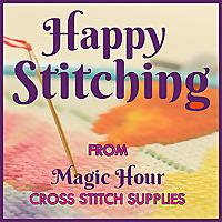 Happy Stitching | Magic Hour Cross Stitch Supplies