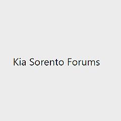 Kia Sorento Forums