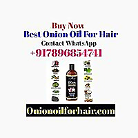 ONION OIL FOR HAIR