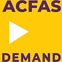 ACFAS On Demand