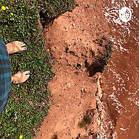 black coffee & bare feet