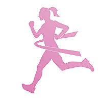 Pink Ribbon Runner