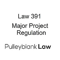 Topics in Environmental Law: Major Project Regulation