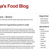 Marga's Food Blog