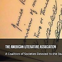 American Literature Association Conversations