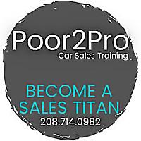 Poor2Pro Car Sales Training