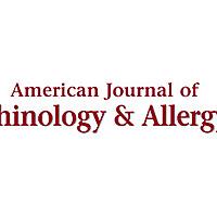 American Journal of Rhinology & Allergy: SAGE Journals