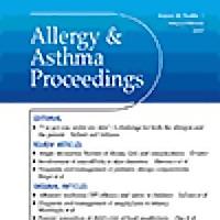 Allergy & Asthma Proceedings