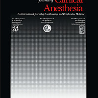 Journal of Clinical Anesthesia