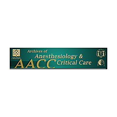 Archives of Anesthesiology and Critical Care