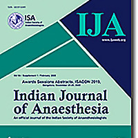 Indian Journal of Anaesthesia