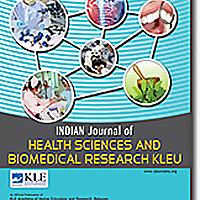 Indian Journal of Health Sciences and Biomedical Research KLEU