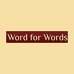 Word for Words: Editor's Blog for Writers