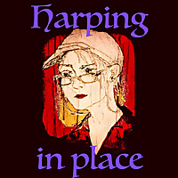 Harping in Place; tranquil folk harp by Joan