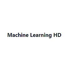 Machine Learning HD