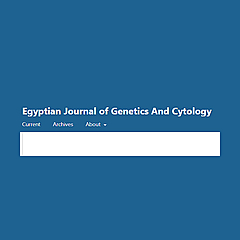 Egyptian Journal of Genetics And Cytology