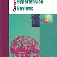 Current Hypertension Reviews