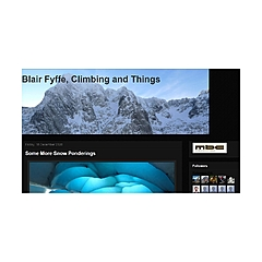 Blair Fyffe, Climbing And Things