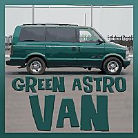 Green Astro Van