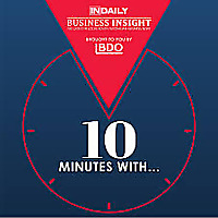 10 Minutes with... Business Insights from a local expert