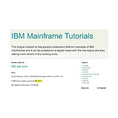 IBM Mainframe Tutorials