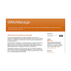IBMzManage Blog