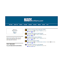 Navy For Moms Blogs
