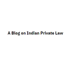 A Blog on Indian Private Law