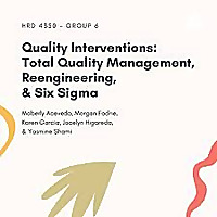 Quality Interventions: Total Quality Management, Re-engineering, Six Sigma