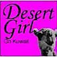 Desert Girl on Kuwait