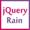 jQuery Rain