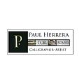 Paul Herrera Calligrapher-Artist