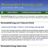 Renewable Energy Blog