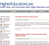 HigherEducationLaw - Views, News, and Information about Higher Education Law