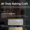 MI Shoe Making Craft
